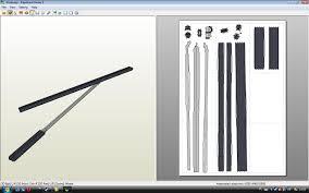 Sword Papercraft Template 179206