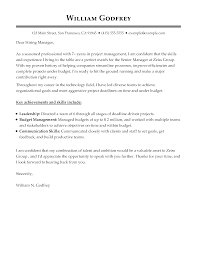 Cover Letter Examples – Write The Perfect Cover Letter