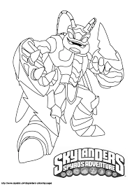 Pictures Skylanders Coloring Pages To Print 34 For Your Books With