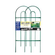 Decorative Garden Fence Border by Amazon Com Origin Point 043210 Gard U0027n Border Round Folding Fence