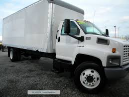 100 Cube Trucks For Sale 2004 Gmc C7500 24ft Box Truck