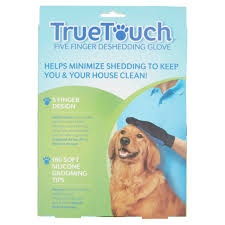 Do All Big Dogs Shed by True Touch Pet The Hair Away Animal Brush Five Finger Deshedding