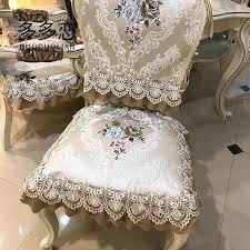 Washable Dining Chair Cushions Summer Table Cloth Cushion Set Non Slip Mat