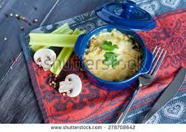 julien cuisine julien fele duck mushrooms sauce stock photo 278708630