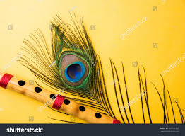 Peacock Feather With Flute Wallpaper Mobile On 1080p HD