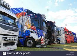 ALAHARMA, FINLAND - AUGUST 7, 2015: Row Volvo Show Trucks In Power ... Convoy Truck Show Fitzgerald Semi Casual Photos Pride Polish Show Trucks Shine At 2016 Great American Wallpaper Wallpapers Browse 75 Chrome Shop Image Result For Airbrushed Truckscom Autos Pinterest Alexandra Blossom Festival Saturday 23th September 2017 North Commercial Vehicle Atlanta The Big Rig Trucks Midamerica Dump Wheels Wsi Xxl Model Mats Ordrive Owner Operators Trucking