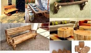 Interior Cedar Log Rustic Bed Logs And Furniture Wood