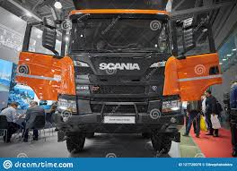 100 Truck Doors MOSCOW SEP 5 2017 New Scania G440 XT Tipper With Open