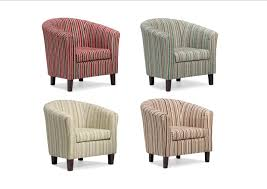 Tullsta Chair Cover Ebay by Dorset Stripe Tub Chair Available In Red Chocolate Lime Or