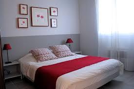 chambre grise et chambre adulte et blanc