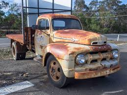 100 Ton Truck Rusty Old 1951 Ford F4 1 Ton Truck Image Paul Leader A Flickr