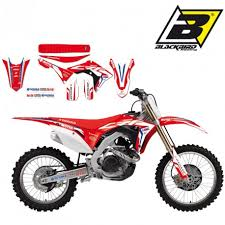 kit deco crf 250 kit déco blackbird réplica hrc crf 250
