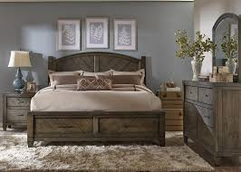 Image Of Country Rustic King Bed Frame