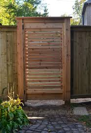 horizontal cedar gate outdoor oasis pinterest cedar gate