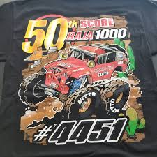 50th Anniversary – Baja 1000 T-Shirt – Off Road Evolution The Blot Says Hundreds X Bigfoot Original Monster Truck Shirts That Go Little Boys Big Red Tshirt Jam Grave Digger Uniform Black Tshirt Tvs Toy Box Monster Jam 4 5 6 7 Tee Shirt Top Grave Digger El Toro Check Out Our Brand New Crew Shirts From Dirt Blaze And Birthday Shirt Raglan Kids Tshirts Fine Art America Truck T Lot Of 8 Adult Large Shirts Look Out Madusa Pink Tutu Dennis Anderson 20th Anniversary Team News Page 3 Of Crushstation Monstah Lobstah Truckjam Birtday Party Monogram