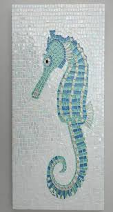 Coastal Bathroom Decor Pinterest by Seahorse Tile Mosaic This Is Stunning
