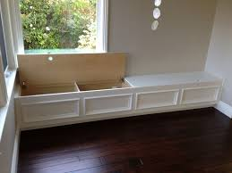 Beautiful Built In Bench Seat With Storage Put Along Wall Family Room For Extra Seating