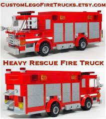 100 Heavy Rescue Trucks Custom Lego Fire Squad Lego MOC 135 Etsy