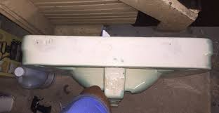 Kohler Pedestal Sink Mounting Bracket by How To Mount And Secure Vintage Antique Sink Terry Love