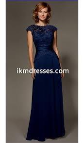 A line royal blue Bridesmaid