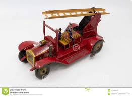 Vintage Metal Toy Fire Truck From The 1930s Stock Image - Image Of ... Kdw Diecast 150 Water Fire Engine Car Truck Toys For Kids Playing With A Tonka 1999 Toy Fire Engine Brigage Truck Ladders Vintage 1972 Tonka Aerial Photo Charlie R Claywell Buy Metal Cstruction At Bebabo European Toys Only 148 Red Sliding Alloy Babeezworld Nylint Collectors Weekly Toy Pinterest Antique Style 15 In Finish Emob Classic Die Cast Pull Back With Tin Isolated On White Stock Image Of Handmade Hand Painted Fire Truck