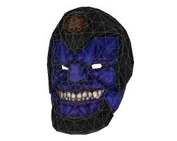 Payday 2 Halloween Masks Unlock by Payday 2 Black Death Mask Free Papercraft Download Http Www