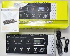 Fender Mustang Floor Manual by Fender Guitar Multi Effects Pedals Ebay