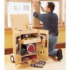 Woodworking Plans by Keep All Your Tools At Hand With This Stow Tool Caddy