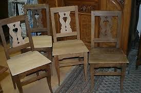 bauernmöbel stuhl biedermeier esszimmer kirschbaum eur 480