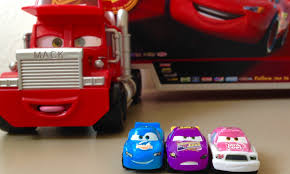 100 Cars 2 Mack Truck Micro Unboxing And Kids YouTube