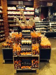 Halloween Grocery Store Displays