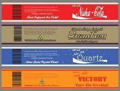 Nuka Cola Quantum Little Lamplight by The 25 Best Nuka Cola Label Ideas On Pinterest Fallout Bottle
