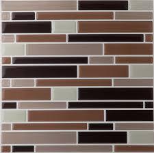 Smart Tiles Mosaik Multi by Amazon Com 6 Pack Mosaic Magic Gel Self Adhesive Backsplash Wall