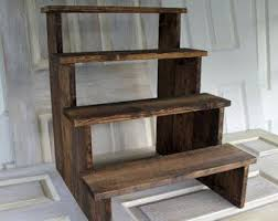 Rustic Cupcake Stand Etsy