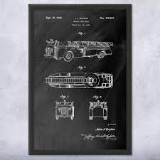 Aerial Fire Truck Framed Art Print | Firefighting Art Decor | Patent ... Fire Engine Themed Bedroom Fire Truck Bedroom Decor Gorgeous Images Purple Accent Wall Design Ideas With Truck Bunk For Boys Large Metal Old Red Fire Truck Rustic Christmas Decor Vintage Free Christopher Radko Festive Fun Santa Claus Elves Ornament Decals Amazon Com Firefighter Room Giant Living Hgtv Sets Under 700 Amazoncom New Trucks Wall Decals Fireman Stickers Table Cabinet Figurine Bronze Germany Shop Online Print Firetruck Birthday Nursery Vinyl Stickerssmuraldecor