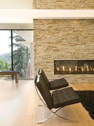steinwand im wohnzimmer 30 inspirationen klimex