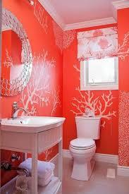 couleur corail dans la décoration en 50 magnifiques exemples