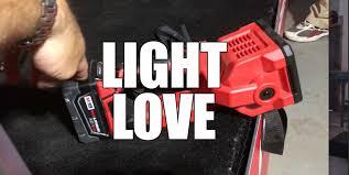 Milwaukee LED lights for 2016 New Product Symposium