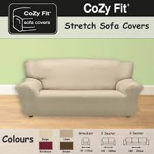 Sofa Slip Covers Uk by 3 Seater Easy Stretch Elastic Fabric Sofa Settee Slip Cover