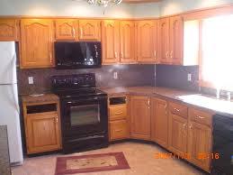 Red Oak Kitchen Cabinets Ingenious Inspiration Ideas 14 Oak