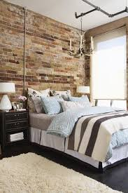 Exposed Brick Wall Bedroom Ideas