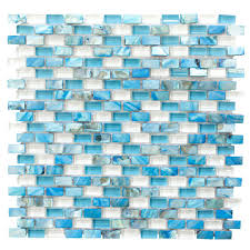 Mexican Shell Stone Tile by Blues Tile Flooring The Home Depot