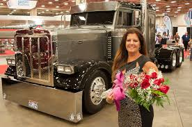 Calling All Female Truckers: Overdrive's 2016 Most Beautiful ... Its Been A Long Road But Im Happy To Be An Hgv Refugee Syrian Lady Driver In Big Truck On The Banked Track At Trc Youtube Women In Trucking Association Announces Its December 2017 Member Bengalurus First Female Garbage Truck Motsports Posed As Car Salesgirl And Shows Male Woman Stock Photos Royalty Free Pictures Driver Filling Up Petrol Tank Gas Station Is Symbol Of Power Cvr News Lisa Kelly A Cutest The Revolutionary Routine Of Life As Trucker Truckers Network Replay Archives Truckerdesiree