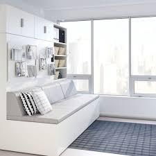 IKEA KNARREVIK Small Room Metal Modern Design Furniture Bedside Table Side Bedroom Black