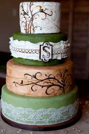 Hand Painted Rustic Wedding Cake By Sweet And Swanky Cakes Photo Credit Love Some Of The Details In This