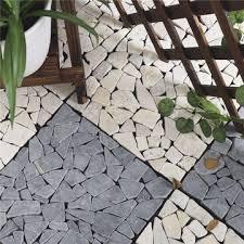 China Garden and patio interlocking outdoor floor tile on Global