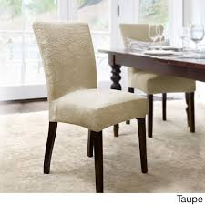 Shop CoverWorks Dahlia Damask Stretch Dining Chair Slipcover (Set Of ... Ding Chair Slipcover Sewing Pattern Chairs Home Room Sets Sure Fit Soft Suede Shorty Taupe Velvet Cover Jf Covers Homiest 1 Pc Spandex Stretch Linen Store Basket Weave Texture Form Portland Full Length 4 Pack Shop Luxury Collection Metro Free Shipping On Decor Best For Parson Create Awesome Pearson Pin By Neby On Modern Interior Ideas Room Chair Long Chateau Toile Cottonpolyester Amazoncom Classic Slipcovers Cabana Stripe Short