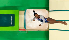 Simone Biles Floor Routine Score by Simone Biles Wins Olympic Gold Medal In Vault Final Nbc Olympics