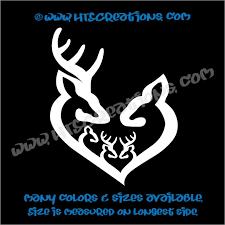 100 Truck Decals For Girls Deer Doe Family Hunting Buck Elk Mom Dad 3 Boys Kids Love