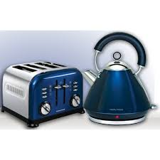 Morphy Richards Accents 4 Slice Blue Toaster